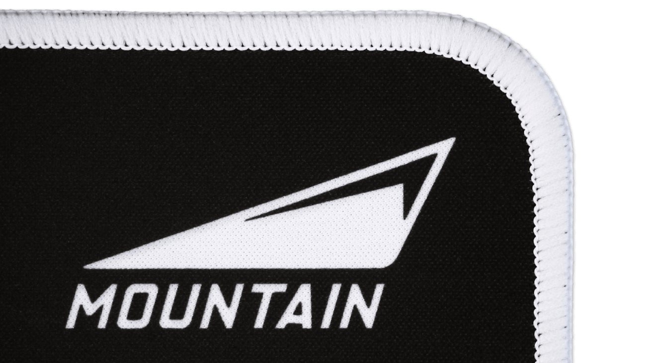 Mountain Nunatak Mousepad Soft Surface