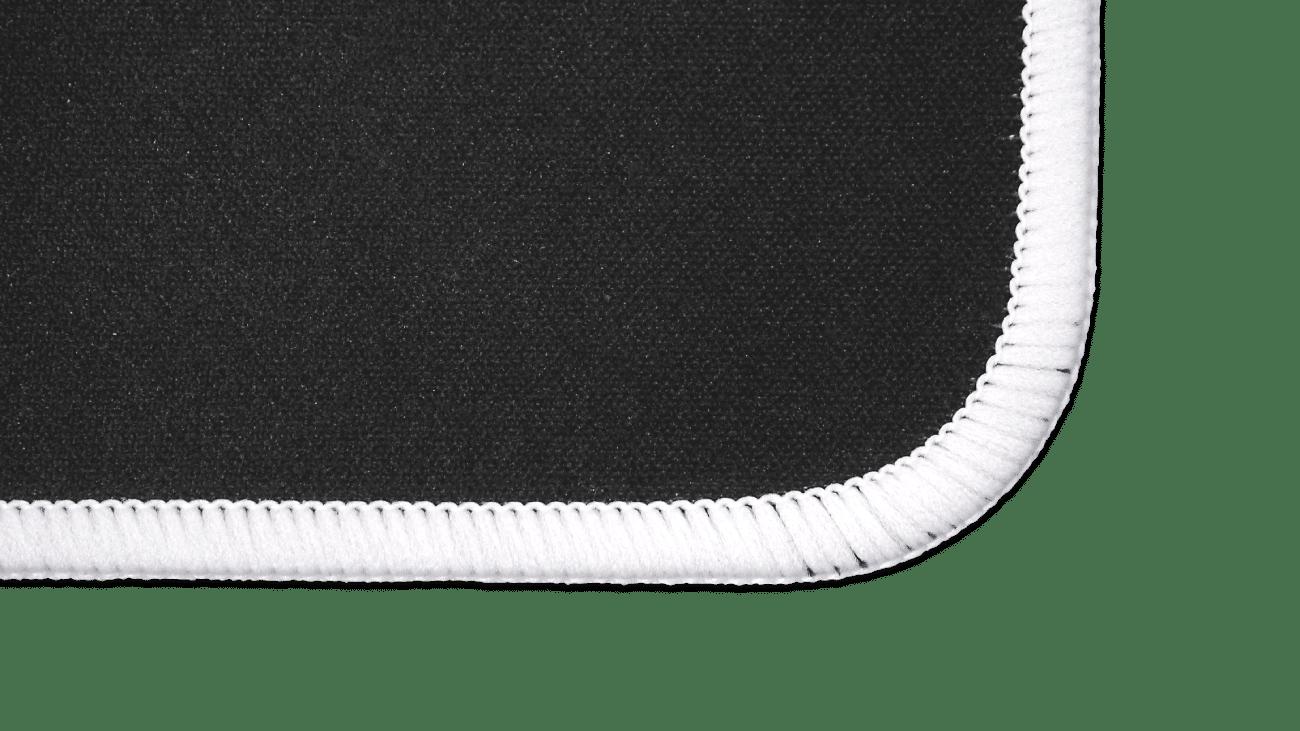 Mountain Glacier Mousepad Stitched Edges